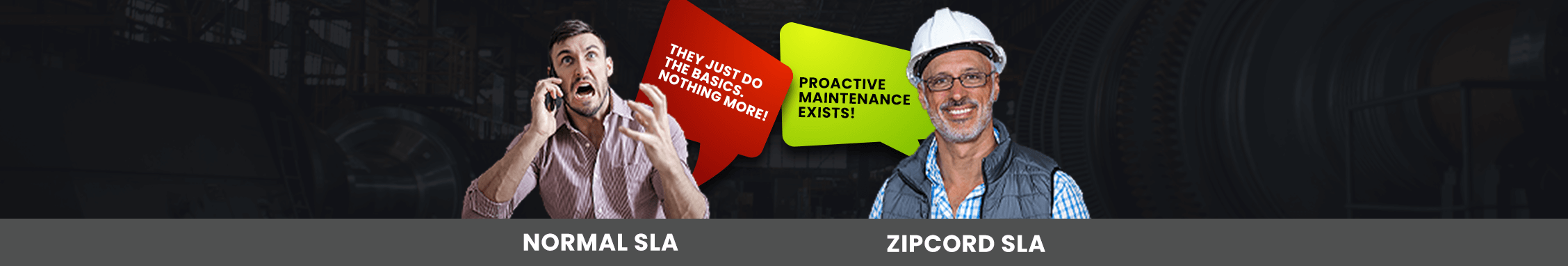Service Level Agreements are better with Zipcord